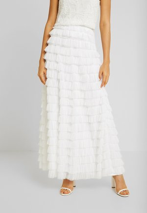 YASCHRISTINA SKIRT - Maxi skirt - star white