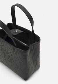 Armani Exchange - SMALL OPEN SHOPPING - Handbag - black - 2