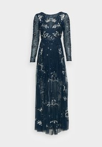 Maya Deluxe - ALL OVER EMBELLISHED SPOT MAXI DRESS - Occasion wear - navy - 3