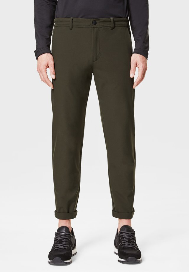 Pantalon classique - olivgrün