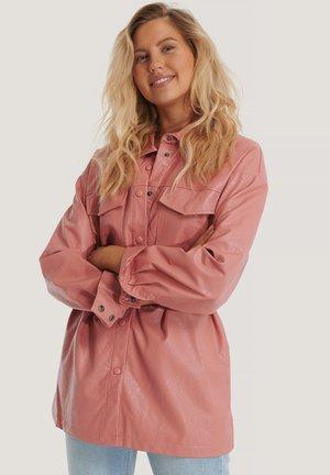 Short coat - dusty pink
