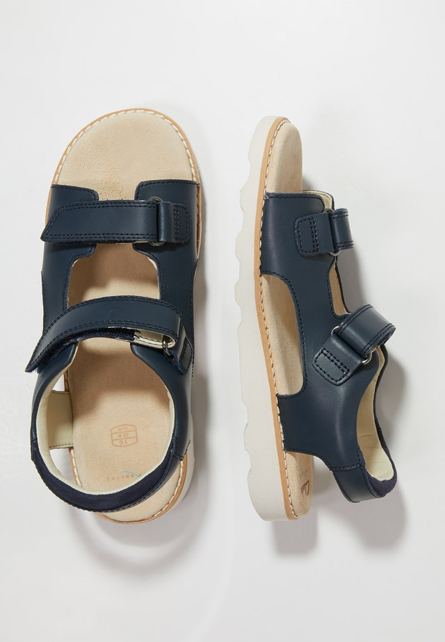 CROWN ROOT - Riemensandalette - navy