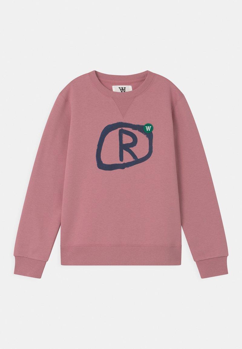Wood Wood - ROD UNISEX - Sweatshirt - rose