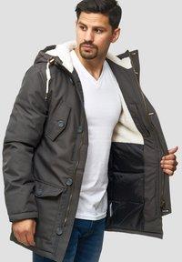 INDICODE JEANS - Winter coat - gray - 4