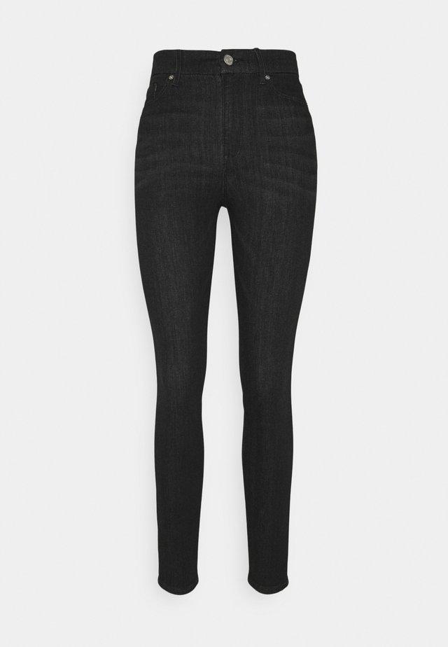 CLARA CURVE NEW - Jeans Skinny Fit - black