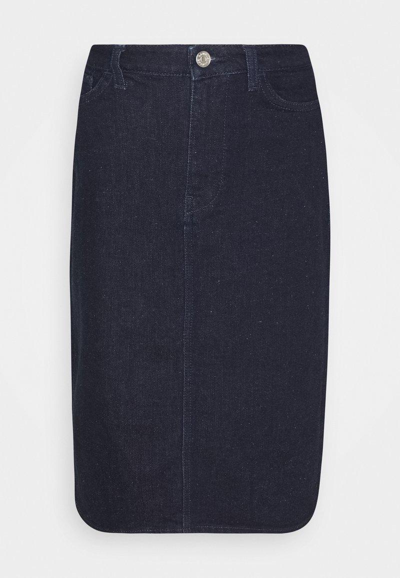 Samsøe Samsøe - BUIBUI SKIRT - Pencil skirt - indigo