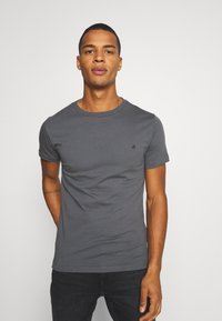 Replay - 2 PACK - T-shirt basic - olive/grey - 4