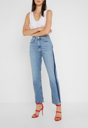 PINCH WAIST - Relaxed fit jeans - queue