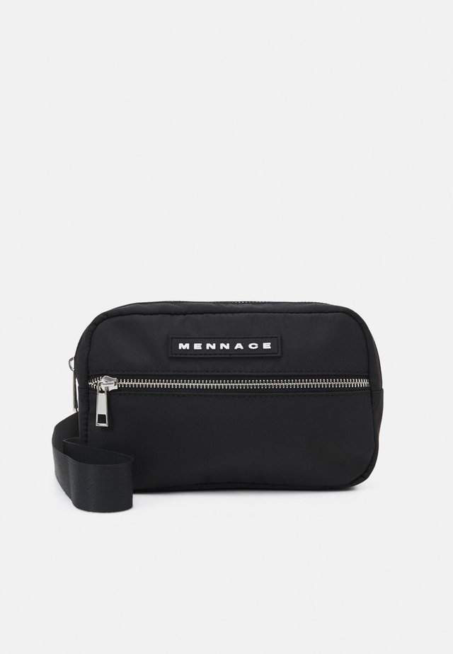 CLIP SADDLE BAG UNISEX - Ledvinka - black