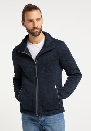 Fleece jacket - dunkemarine melange