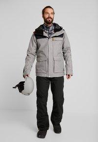 Wearcolour - ROAM JACKET - Snowboardjakke - grey melange - 1