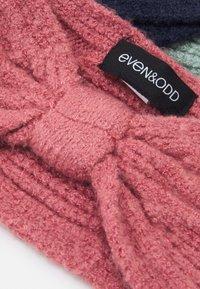 Even&Odd - 3 PACK - Nauszniki - pink/mint/dark blue - 2
