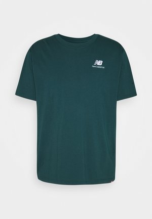 ESSENTIALS EMBROIDERED TEE - Basic T-shirt - green