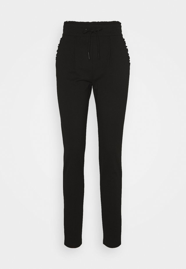 ONLPOPTRASH EASY FRILL PANT - Pantalon de survêtement - black