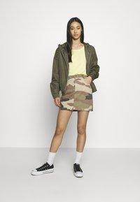 ONLY - ONLFAVOURITE SKIRT  - A-line skirt - kalamata/camo - 1