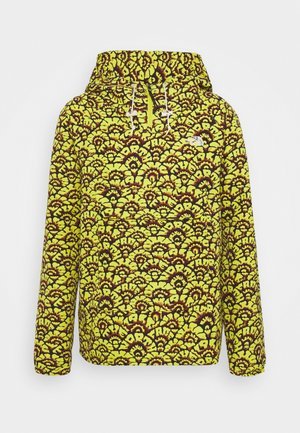 PRINTED CLASS FANORAK - Outdoor jacket - mustard yellow/dark blue