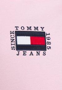 Tommy Jeans - BOX FLAG HOODIE - Sweat à capuche - romantic pink - 2