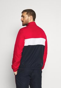 Lacoste Sport - TRACKSUIT - Tracksuit - ruby/navy blue/white - 2