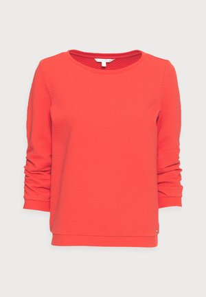 Sweatshirt - brilliant red