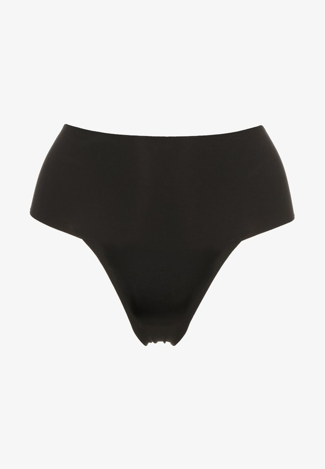 UNDIE TECTABLE THONG - Intimo modellante - black