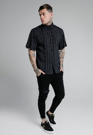 RE-RUN - Shirt - black/grey