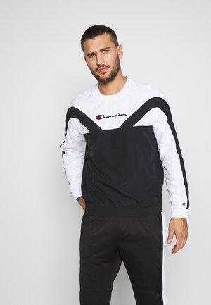 ROCHESTER ATHLEISURE - Sweatshirt - black/white
