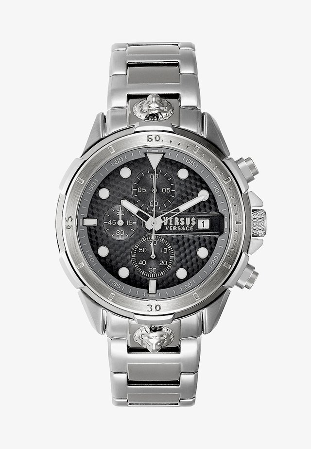 ARRONDISSEMENT - Chronograph watch - silver-coloured/black