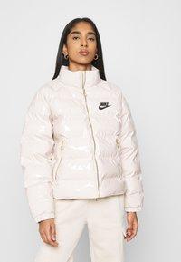 Nike Sportswear - ICON CLASH - Winter jacket - oatmeal/black - 0