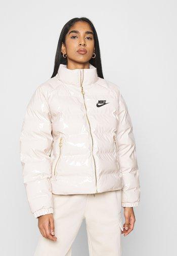 ICON CLASH - Winter jacket - oatmeal/black