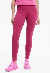 Puma - EVIDE - Leggings - Trousers - glowing pink - 0