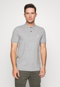 Abercrombie & Fitch - MULTIPACK 3 PACK - Polo - navy/grey/white - 4