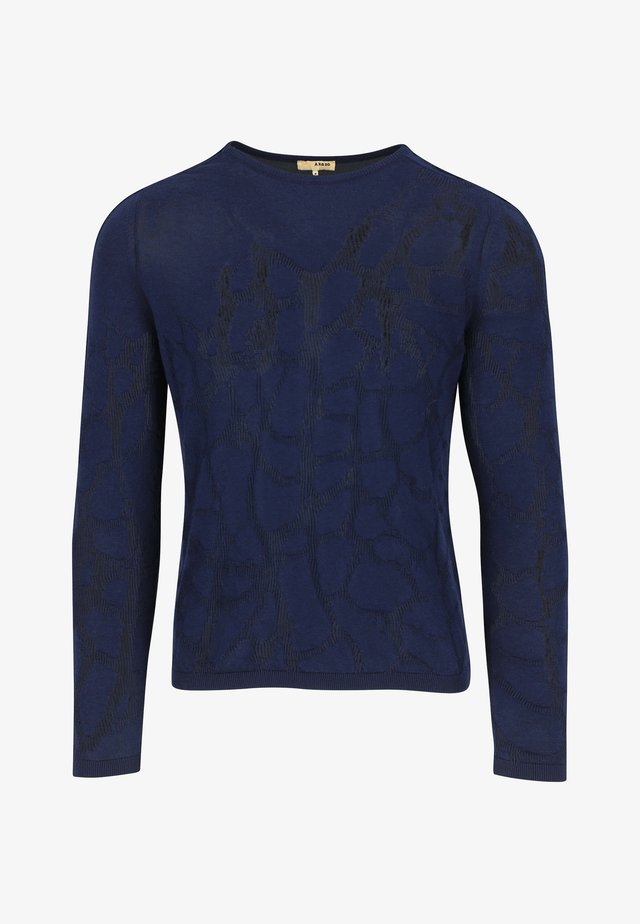 Sweater - midnight blue