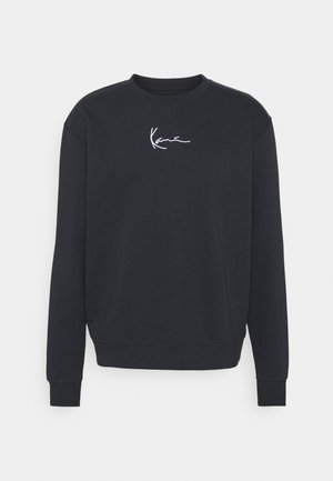 SMALL SIGNATURE CREW - Sweatshirts - navy