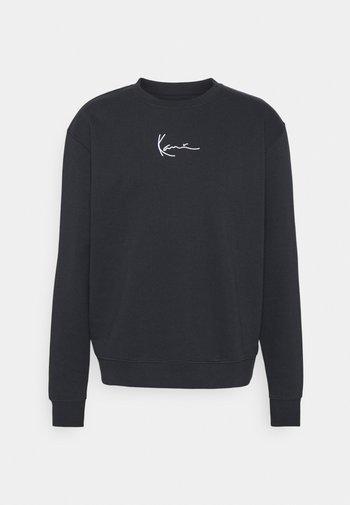 SMALL SIGNATURE CREW - Sweatshirt - navy