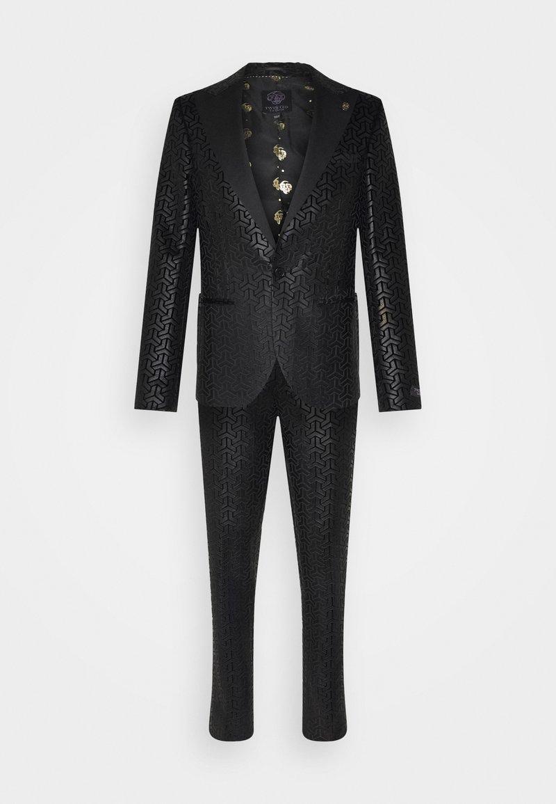 Twisted Tailor - CHAKA SUIT - Suit - black