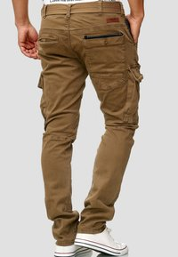 INDICODE JEANS - RAYANE - Cargo trousers - brown - 2