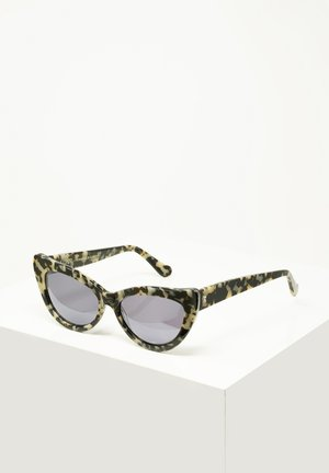 CHARLOTTE - Sunglasses - blk/whttor