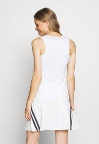 Nike Golf - FLEX ACE - Sports shirt - white - 2
