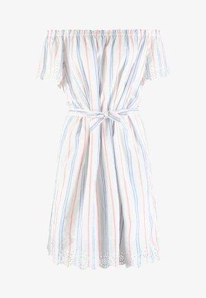 SLUB STRIPE - Denní šaty - off white