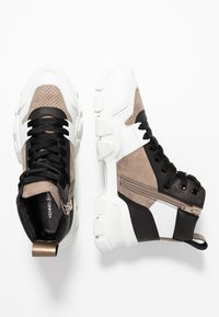 Kennel + Schmenger - ACE - High-top trainers - bianco/taupe/gold - 3
