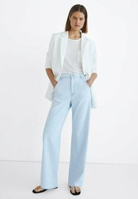 Massimo Dutti - Jeansy Relaxed Fit - blue - 1