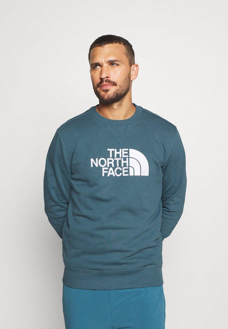 The North Face - DREW PEAK CREW - Mikina - blue