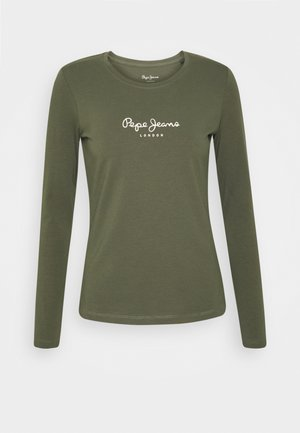 NEW VIRGINIA - T-shirt à manches longues - forest green