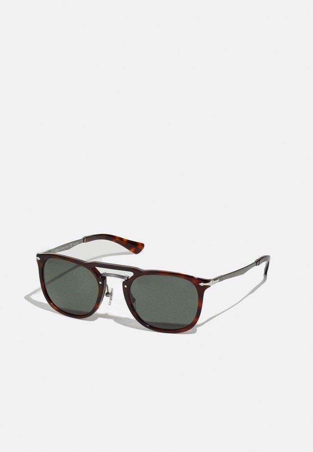 UNISEX - Sunglasses - havana /gunmetal