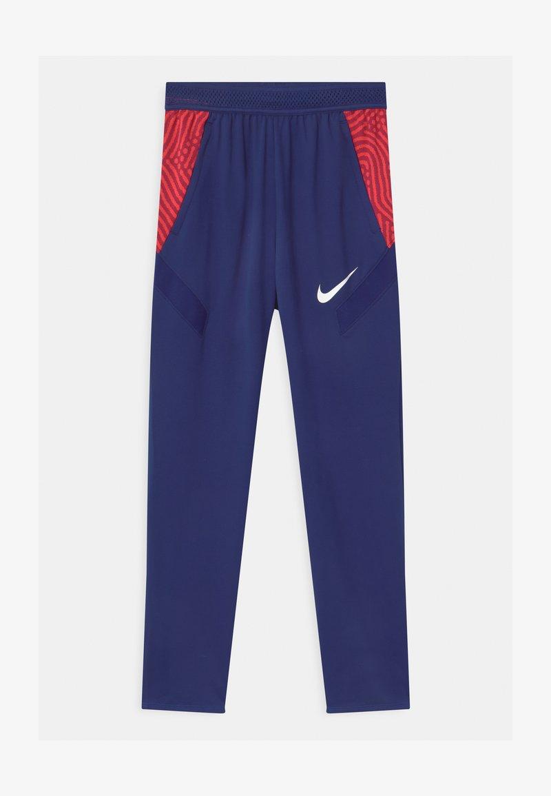 Nike Performance - DRY STRIKE  - Teplákové kalhoty - deep royal blue/dark beetroot/white