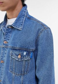 Bershka - Jeansjacka - blue denim - 3