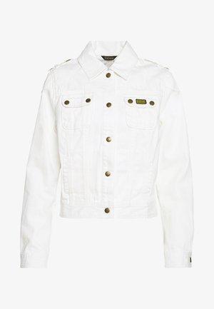 DURNESS CASUAL - Denim jacket - white