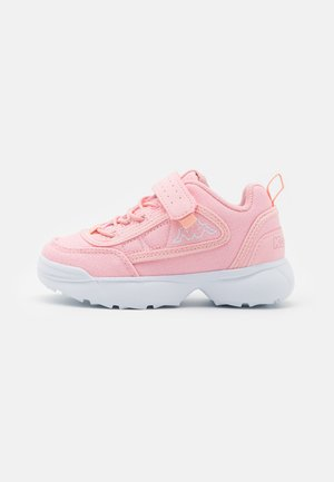 Sports shoes - rosé/white