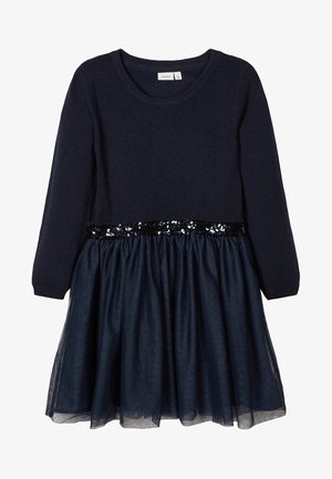 Cocktail dress / Party dress - dark sapphire
