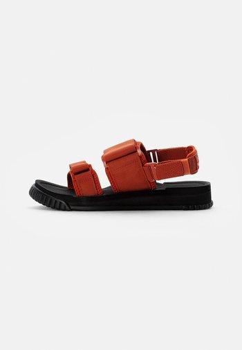 WEEKENDER - Sandals - dark terracotta